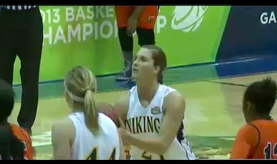 2013 DII Women's Basketball: Clayton St vs Augustana Full Replay