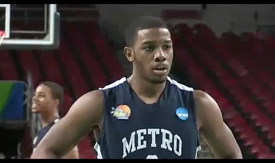 2013 DII Men's Basketball Quarterfinal: Metro State vs. Franklin Pierce - Full Replay