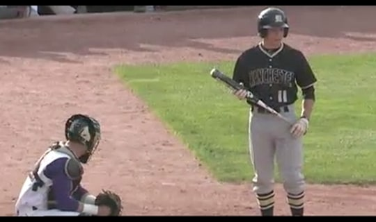 2013 DIII Baseball: Manchester vs. Wis.-Stevens Point- Full Replay