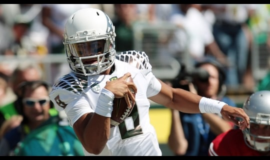 Gamechanger: Mariota pushes Oregon