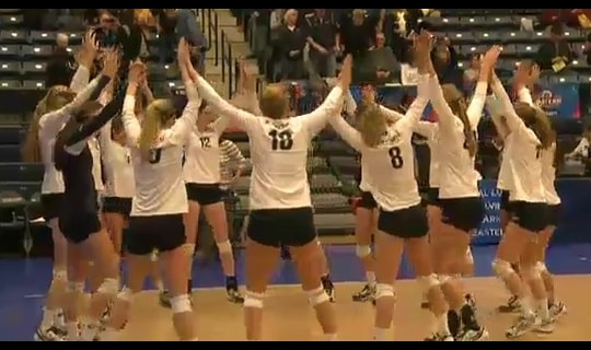 2013 DIII Women's Volleyball Quarterfinal: Emory vs. Eastern - Replay