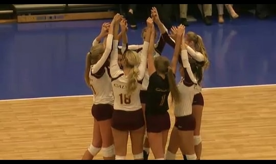 2013 DIII Women's Volleyball Quarterfinal: UMass-Boston vs. Calvin - Full Replay