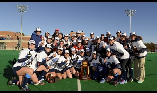 Shippensburg wins the 2013 DII Field Hockey Championship
