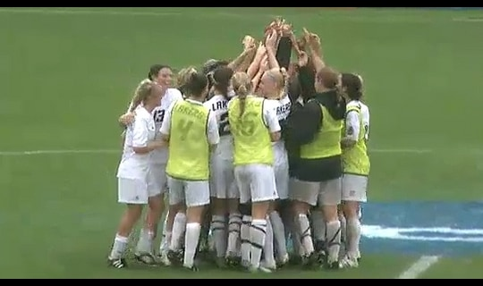 2013 DII Women's Soccer Semifinal: American Int'l vs. Grand Valley St - Full Replay