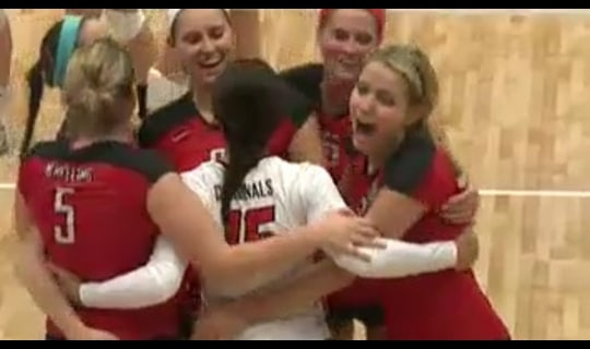 2013 DII Women's Volleyball Quarterfinal: Wheeling Jesuit vs. Wingate - Full Replay