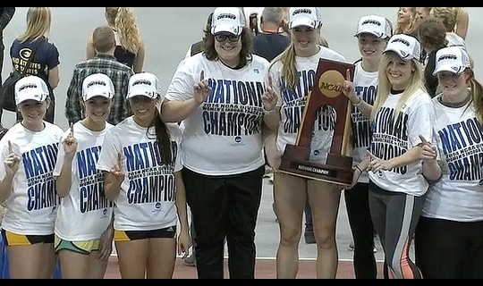 UW-Oshkosh wins the 2014 DIII Women's Indoor Track & Field Championship