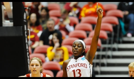 First Round: Stanford eases past South Dakota