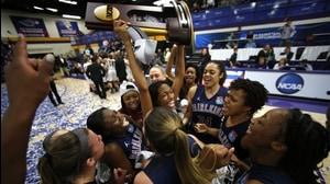 FDU-Florham wins the 2014 DIII Women's Basketball Championship