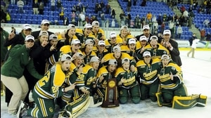 Clarkson wins the 2014 NC Women's Ice Hockey Championship