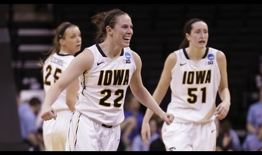 First Round: Hawkeyes soar past Marist
