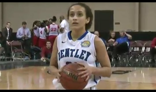 2014 DII Women's Basketball Quarterfinal: Bentley vs. Drury - Full Replay