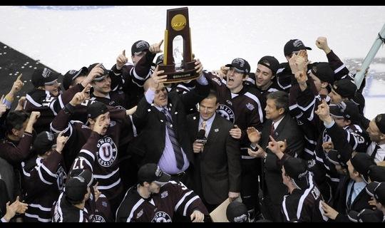 Frozen Four: Union wins first title