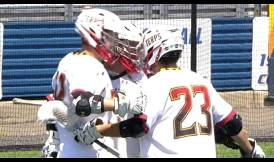 DI Men's Lacrosse Quarterfinals: Maryland dominates Bryant