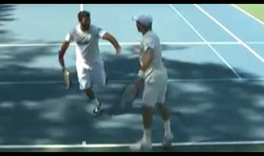 2014 DII Men's Tennis: Championship Final Full Replay