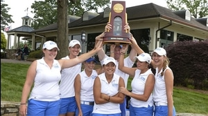 Lynn wins the 2014 DII Women's Golf Championship