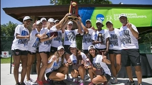 Barry and West Florida win titles at the 2014 DII Tennis Championship