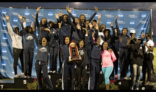 Lincoln (Mo.) wins the 2014 DII Women's Outdoor Track & Field Championship
