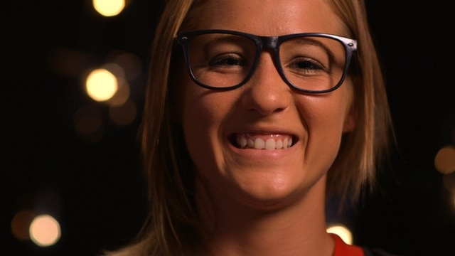 Christina Hamilton The Pitcher Behind The Glasses