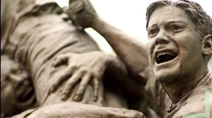 Road to Omaha statue: Brian O'Connor's monument