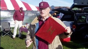 Traditions: Harvard's Little Red Flag