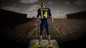 Behind the Seams: Michigan goes Under The Lights