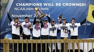 Colorado wins the 2014 DI Men's Cross Country Championship