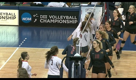 2014 DIII Women's Volleyball: Semifinal Recap