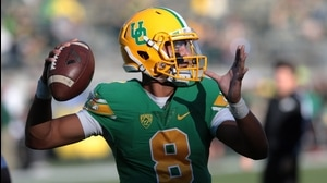 Hand Him the ... Oregon's Marcus Mariota