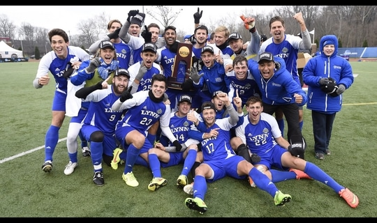 Lynn wins the 2014 DII Men's Soccer Championship