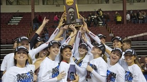 Tampa wins the 2014 DII Women's Volleyball Championship