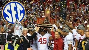 Social Game: Alabama cruises to SEC title