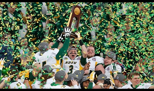 Gamechanger: Bison win fourth consecutive FCS title