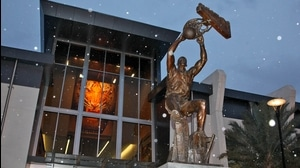 High Five: College basketball statues