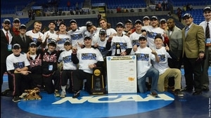 SCSU wins the 2015 DII Wrestling Championship