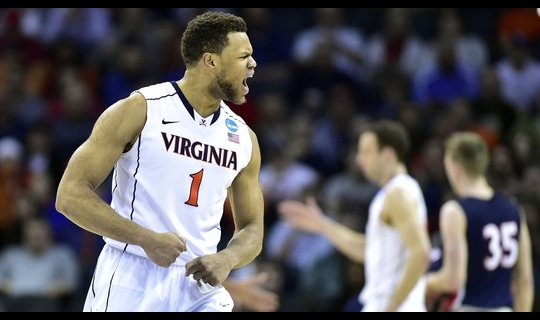 Second Round: Virginia survives Belmont scare
