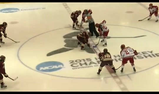 2015 DIII Women's Ice Hockey Semifinal Full Replay: Norwich vs. Plattsburgh State