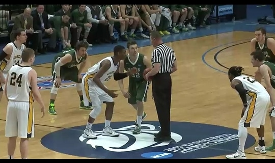 2015 DIII Men's Basketball Semifinal Full Replay: Babson vs. Augustana (IL)
