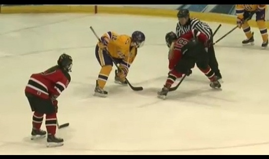 2015 DIII Women's Ice Hockey Semifinal Full Replay: Wisconsin-River Falls vs. Elmira
