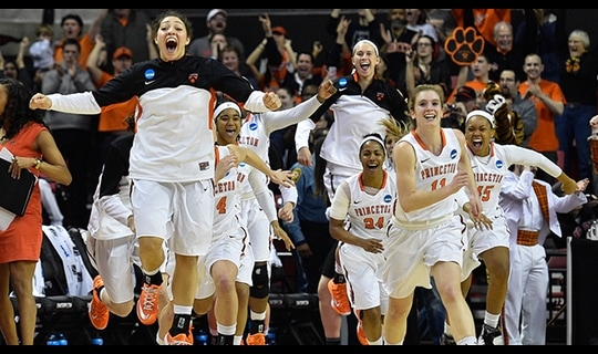 First Round: Princeton remains undefeated