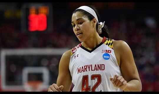 First Round: Maryland dominates inside