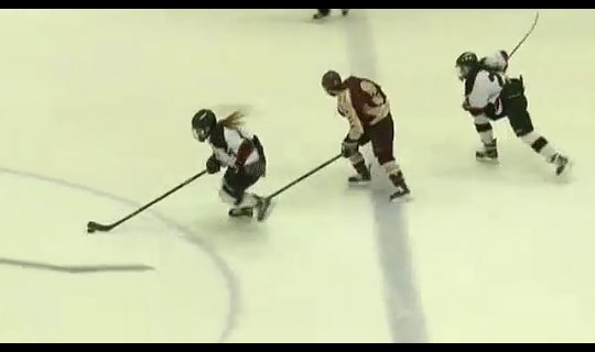 2015 DIII Women's Ice Hockey Third Place Full Replay: Norwich vs. Wisconsin-River Falls