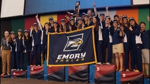 Emory wins the 2015 DIII Women's Swimming & Diving Championship
