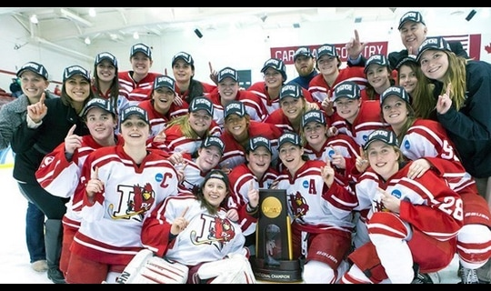 Plattsburgh State wins the 2015 DIII Women's Ice Hockey Championship