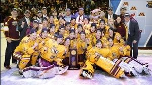 Minnesota wins the 2015 NC Women's Ice Hockey Championship