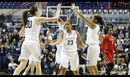 Second Round: UConn dominates Rutgers