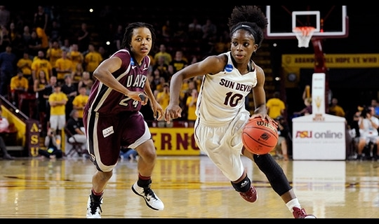 Second Round: Sun Devils escape
