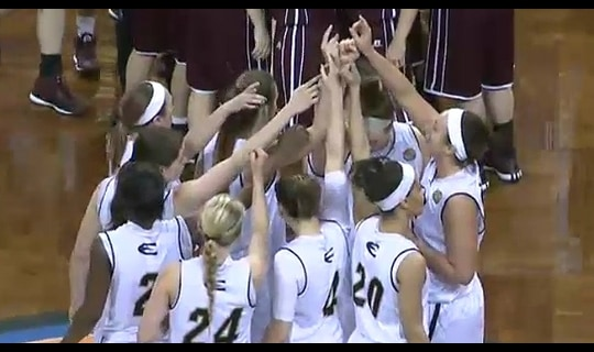 2015 DII Women's Basketball Quarterfinal Full Replay: Emporia State vs. West Texas A&M