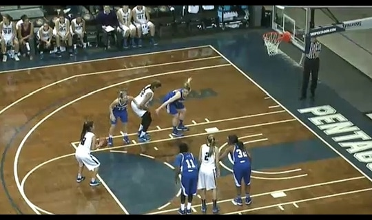 2015 DII Women's Basketball Quarterfinal Full Replay: California Baptist vs. New Haven