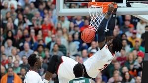 Best dunks from Sunday's Elite Eight