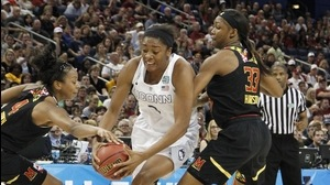 Final Four: Huskies hot against Maryland